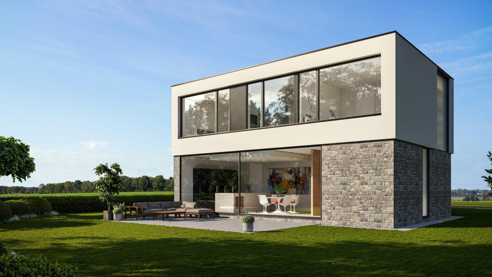 Construction de villa personnalisée - Maison clé sur porte