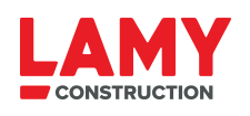Logo de Lamy Construction